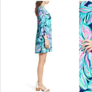 Lilly Pulitzer Dresses - Lilly Pulitzer Rosalia Bell Sleeve A-Line Dress